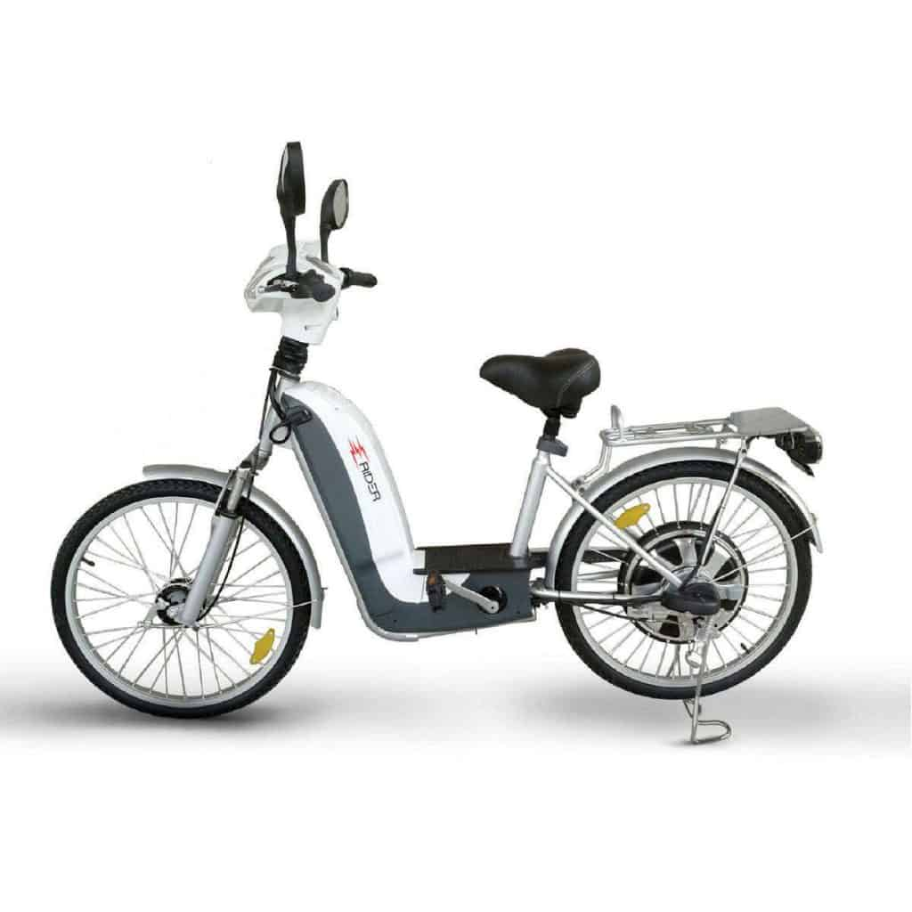 Side View Of Electric Bike