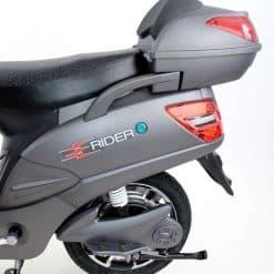 Back Of Electric Bike
