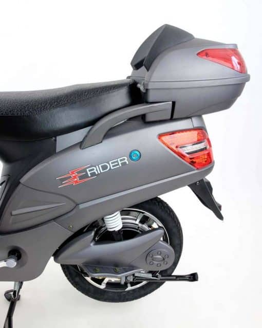 Back Of Electric Bike