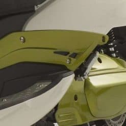 Side Of Electric Motorbike