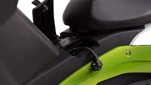 Charging Electric Motorbike