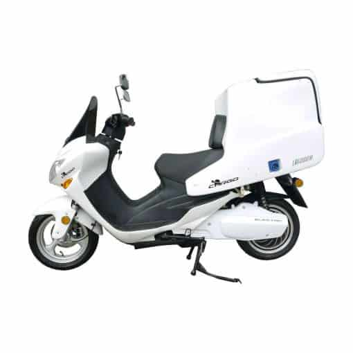Side Of Cargo Electric Motorbike