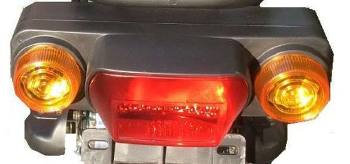 Backlights Of Electric Bike